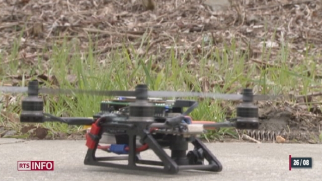 Nouvo: l'utilisation de drones civils pose questions quant au respect de la sphère privée [RTS]