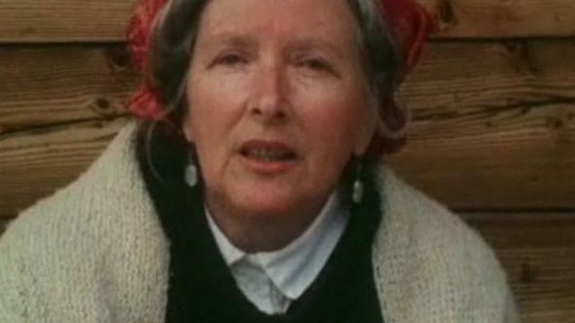 Corinna Bille en 1974 [TSR]