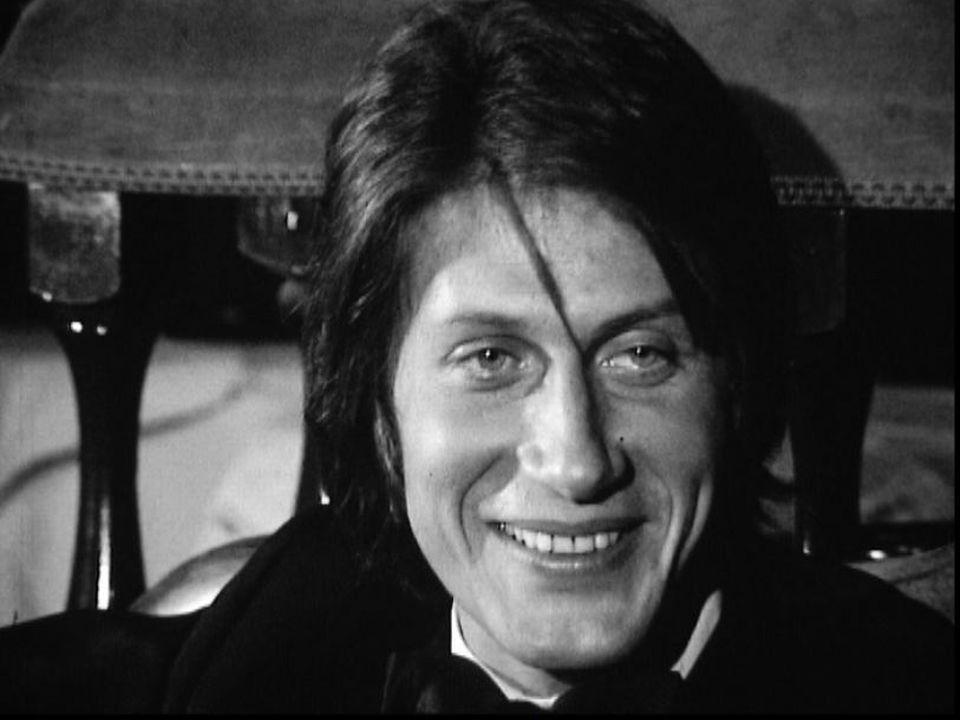 Jacques Dutronc, dandy charmeur en 1971. [RTS]