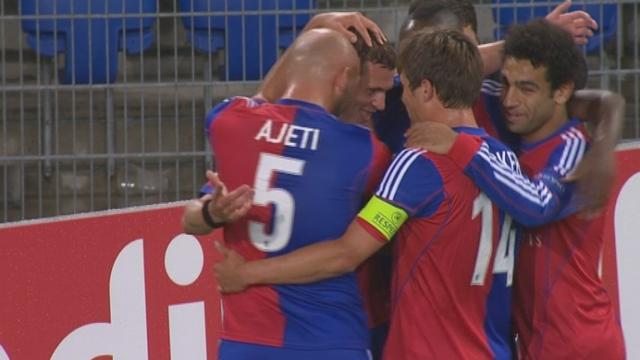 Qualification. Barrage (retour): FC Bâle - Ludogorets Razgrad (BUL) 1-0. 11e minute: Fabian Frei ouvre le score [RTS]