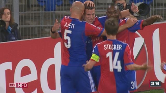 Football: le FC Bâle s'est offert une 5ème participation à la Ligue des Champions [RTS]