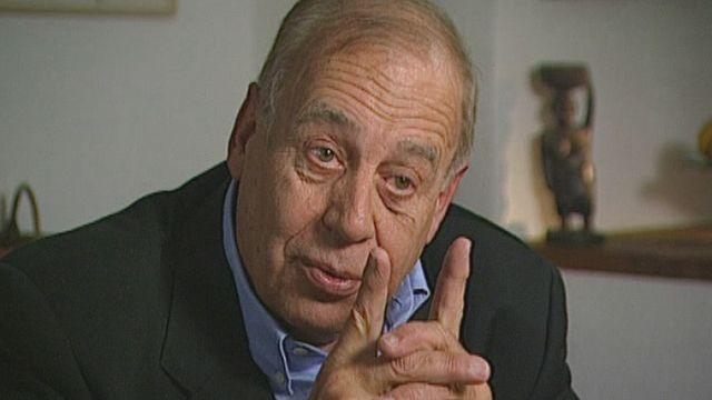 Jean Ziegler en grand entretien. [RTS]