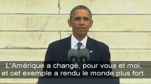 Le discours d'Obama en hommage à Martin Luther King [RTS]