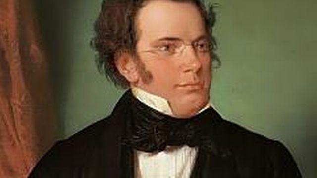 Franz Schubert par Wilhelm August Rieder, 1875 [Wikicommons]