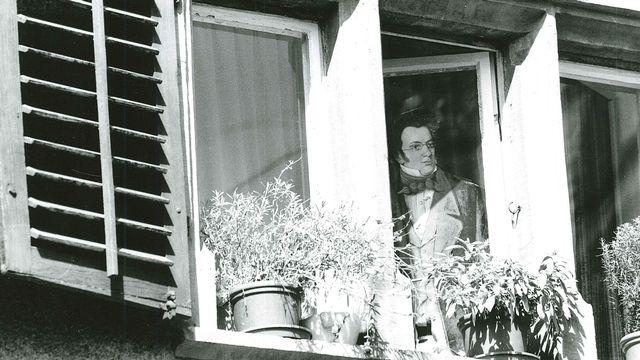 Présence de Franz lors de la Schubertiade de Delémont, 1998 [RSR]