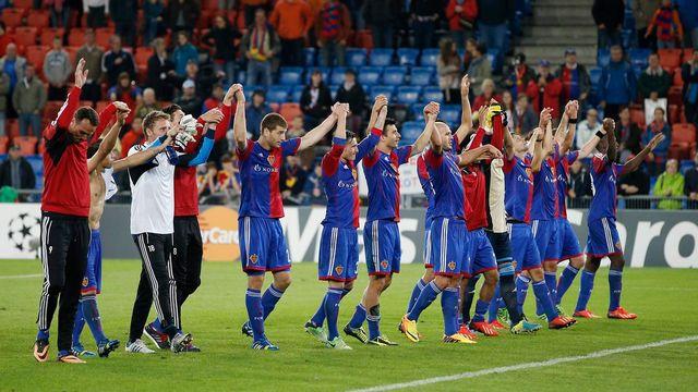 Le FC Bâle s'offre une cinquième participation à la Ligue des champions. [Peter Klaunzer - Keystone]