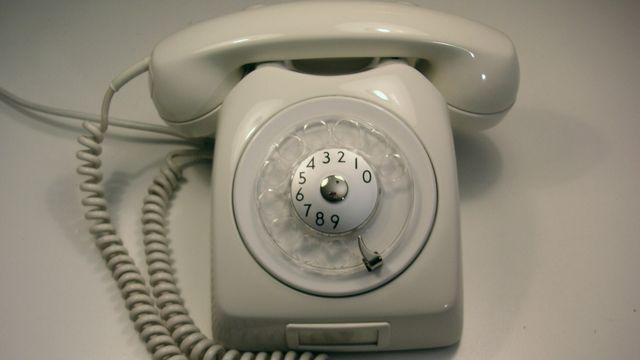 Un téléphone Dialog datant de 1966. [Wikimedia commons]