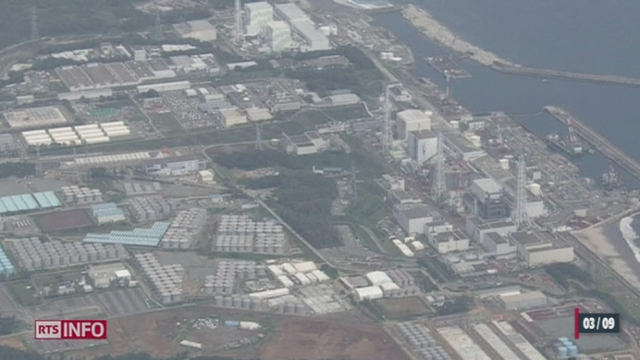 Fukushima: 300 tonnes d'eau contaminée se déversent chaque jour dans l'océan [RTS]