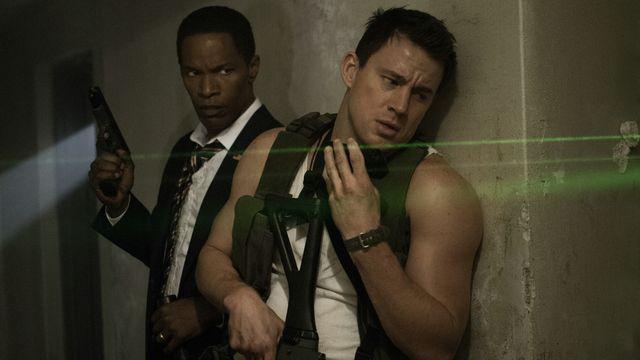 """Channing Tatum et Jamie Foxx dans """"White House Down"""", de Roland Emmerich. [Sony Pictures]"""