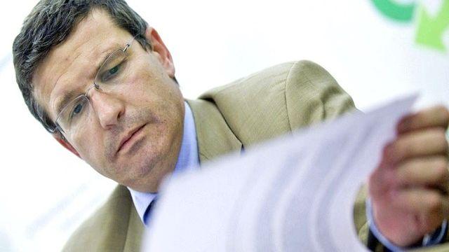 Christophe Reymond, directeur du Centre patronal vaudois. [Marcel Bieri - Keystone]