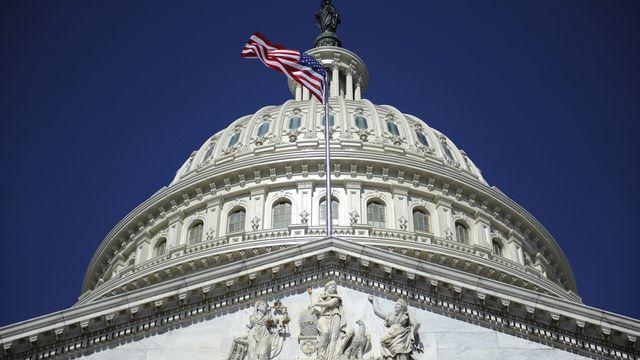 Le Capitole à Waghington où se réunit le Congrès américain. [Jonathan Ernst - Reuters]
