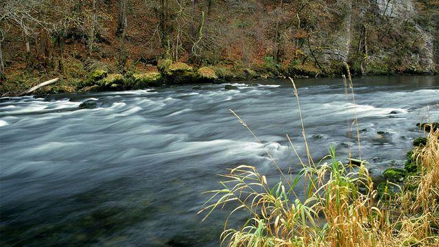Le Doubs près de Goumois Jean-Louis Vandevivère, image pour RTSdécouverte, le problème du mois [Jean-Louis Vandevivère, WikiCommons]