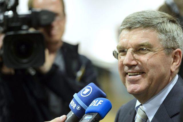 Thomas Bach, candidat allemand à la présidence du CIO. [Laurent Gillieron - Keystone]