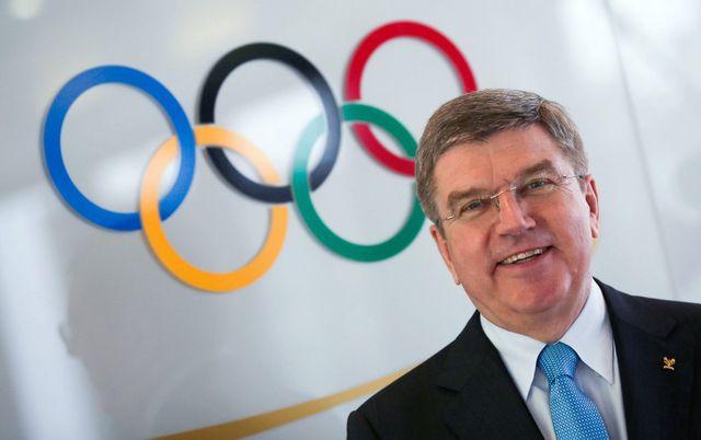 Thomas Bach devient le 9e président du CIO. [Frank Rumpenhorst - Keystone]