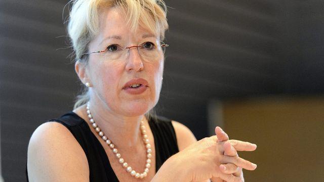 Jacqueline de Quattro, PLR-VD. [Laurent Gilliéron - Keystone]