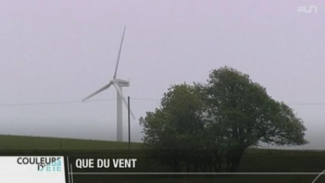 La question des éoliennes divise toujours autant [RTS]