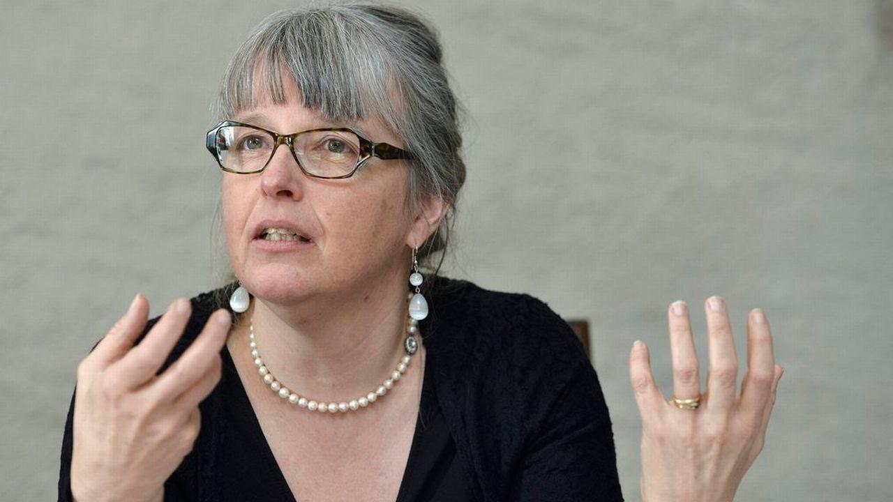 Michèle Künzler. [MARTIAL TREZZINI - Keystone]
