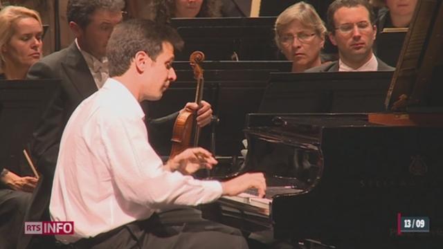 VD/ La finale du 25ème concours international de piano «Clara Haskil» s'est tenue à Vevey [RTS]