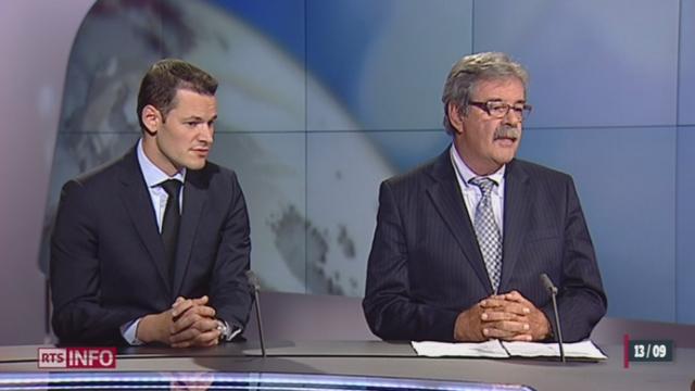 Affaire de l'éducatrice: entretien avec Pierre-François Unger et Pierre Maudet, Conseillers d'Etat (GE) (1/2) [RTS]