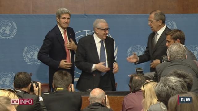 Syrie: Américains et Russes se sont entretenus à Genève pour faire le point [RTS]