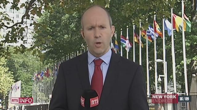 Syrie / résolution par l'ONU: les explications de Pierre Gobet [RTS]