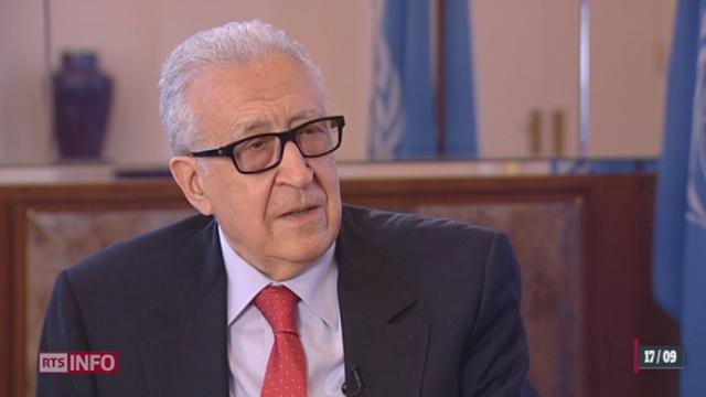 Syrie: le point avec Lakhdar Brahimi, l'émissaire spécial de l'ONU pour la Syrie [RTS]