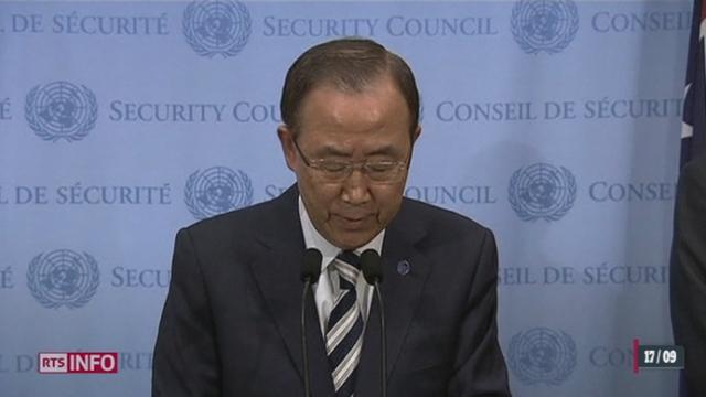Syrie: le rapport de l'ONU confirme l'usage d'armes chimiques [RTS]