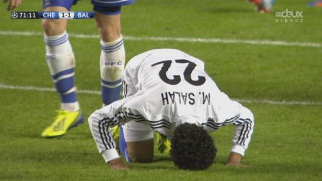 1re journée. Gr. E. Chelsea - FC Bâle (1-1). 71e minute: magnifique combinaison bâloise et Mohamed Salah égalise! [RTS]