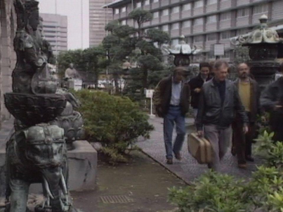 L'OSR en tournée au Japon en 1991. [RTS]