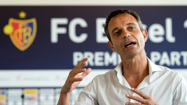 Bernhard Heusler, président du FC Bâle. [Georgios Kefalas - Keystone]