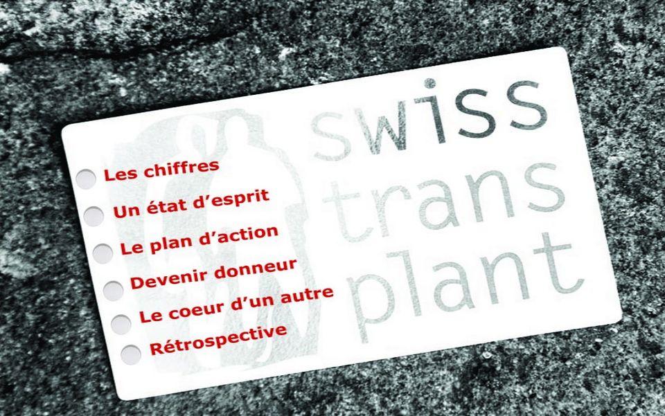 Infographie sur le don d'organe en Suisse. [RTS]