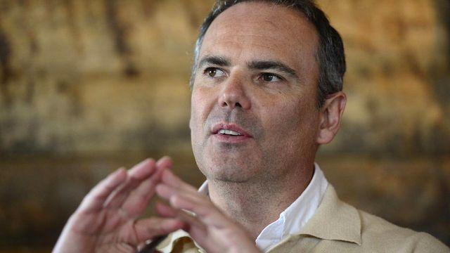 Jean-François Collet, vice-président du Lausanne-Sport. [Maxime Schmid - Keystone]
