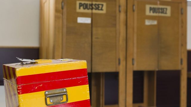 A Genève, le MCG pourrait créer la surprise, notamment en ville, où il n'avait pas atteint le quorum en 2007. [Salvatore Di Nolfi - Keystone]