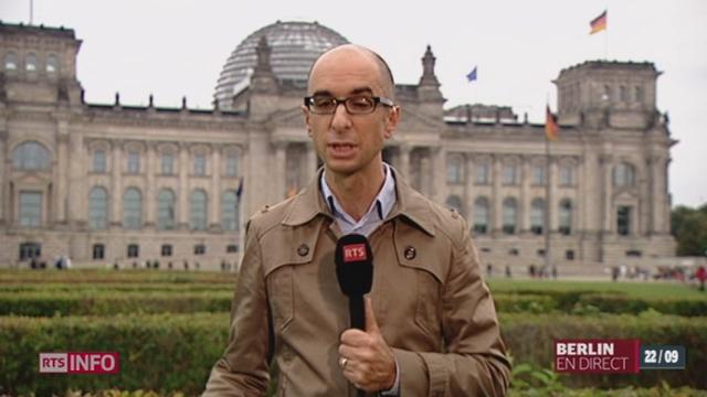 Allemagne / Élection législative: le point avec Antoine Heulard [RTS]