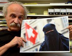 Giorgio Ghiringhelli, promoteur de l'initiative anti-burqa. [Keystone]