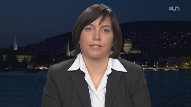 Interview de Sonia Seneviratne, climatologue, Département de l'environnement, EPFZ [RTS]