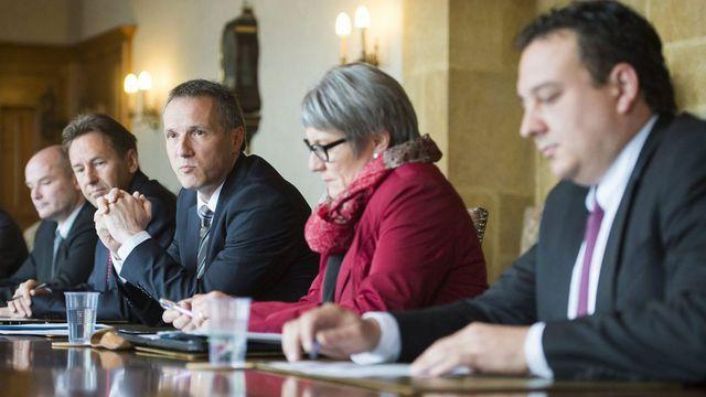Le Conseil d'Etat se prononcera cette semaine sur cette nouvelle affaire. [Jean-Christophe Bott - Keystone]