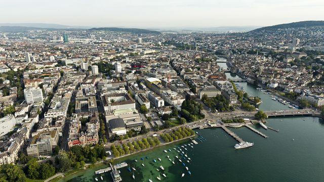 La ville de Zurich. [Alessandro Della Bella - Keystone]