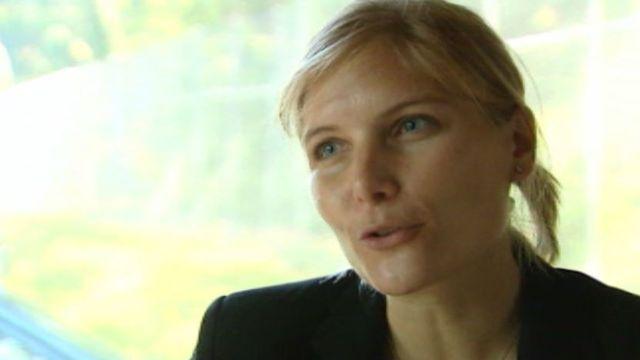 Viviane Schekter, psychothérapeute, directrice de Carrefour Prison. [RTS]