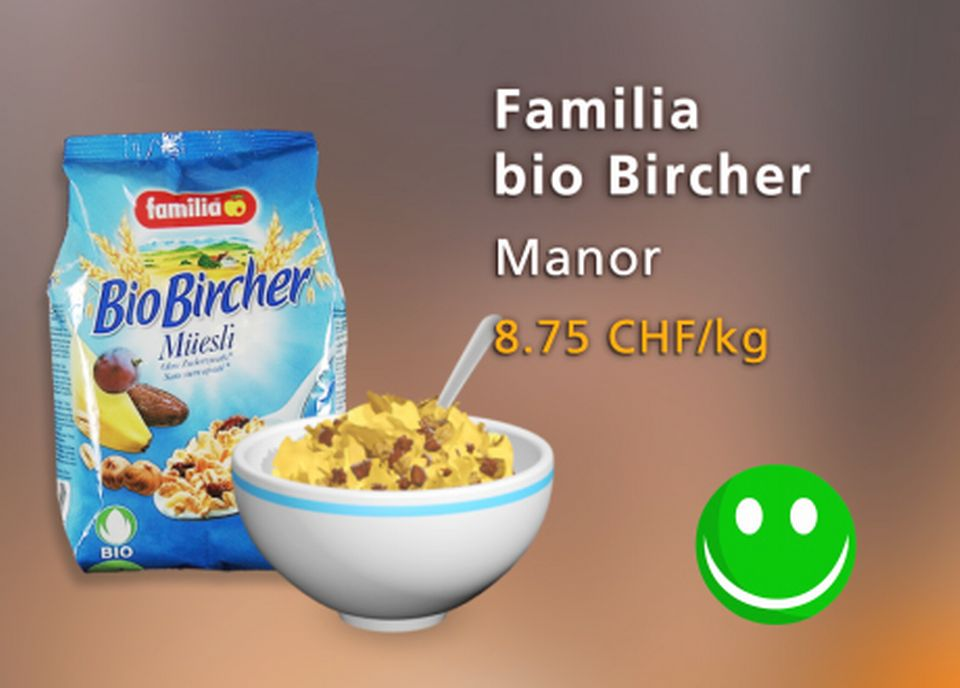 Familia Bio Bircher, Manor. [Daniel Bron - RTS]