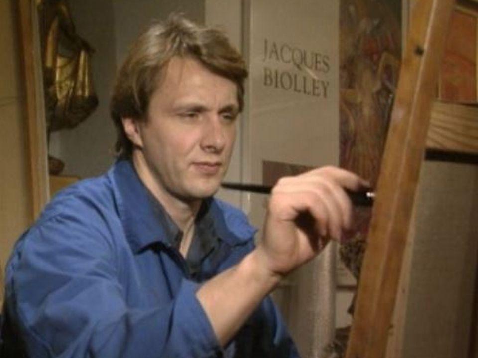 Le peintre Jacques Biolley [RTS]