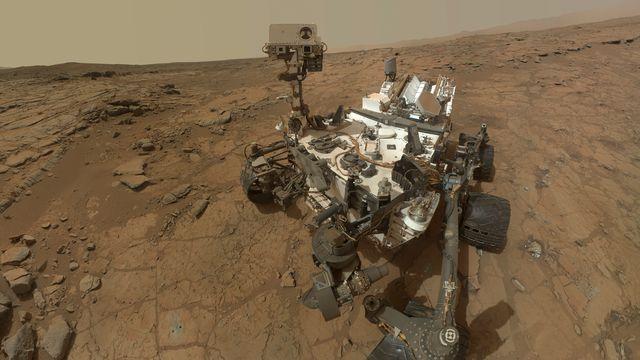 Le robot Curiosity a passé 13 mois sur la Planète Rouge. [NASA - Reuters]