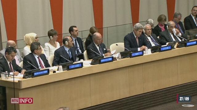 Syrie: les 5 membres permanents du Conseil de sécurité de l'ONU sont finalement tombés d'accord [RTS]