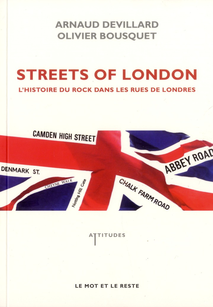 "Couverture du livre ""Streets of London""."