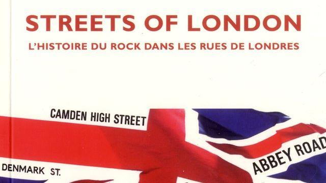 """Couverture du livre """"Streets of London"""". [Editions Le mot et le reste]"""