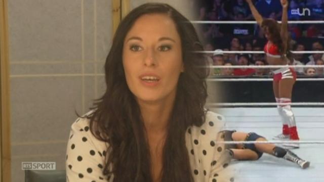 La jurassienne Laura Mischler rêve de devenir catcheuse professionnelle [RTS]