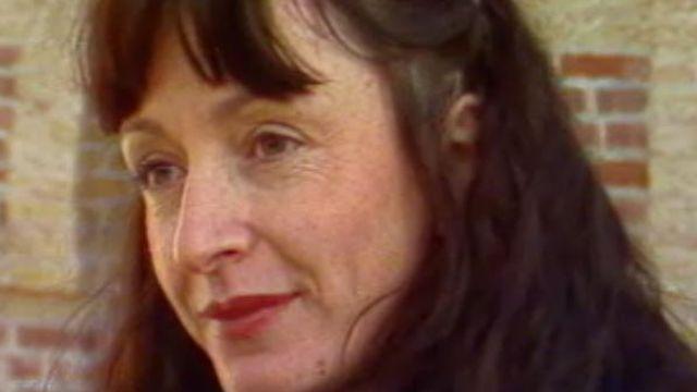 Yvette Théraulaz en 1980. [RTS]