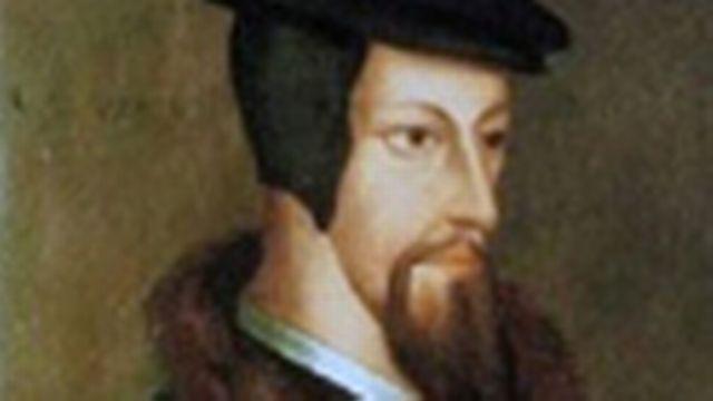 Portrait de Jean Calvin.