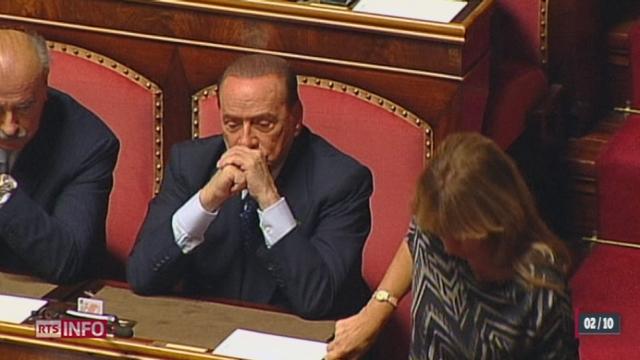 Le président du Conseil italien Enrico Letta a obtenu le vote de confiance de la part du Sénat [RTS]