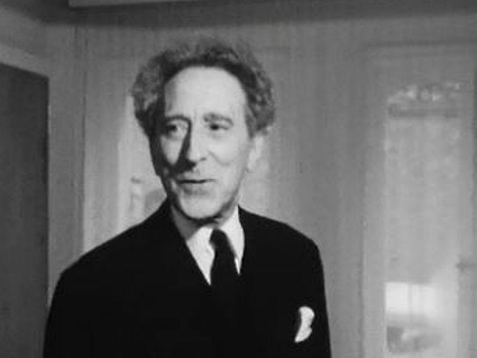 Jean Cocteau en 1958. [RTS]